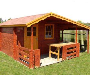 Zahradní domek pro klidnou relaxaci