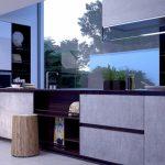 Betonová kuchyně dodá vašemu interiéru originalitu