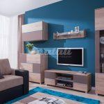 Sektorový nábytek se bude v obývacím pokoji vyjímat