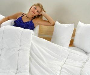Jak se v zimě dobře vyspat? Zkuste přikrývky lehké jak pírko!