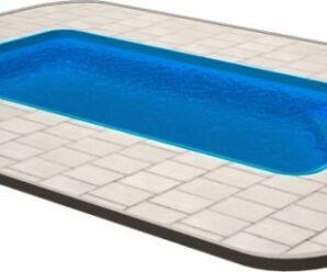 Plastové zapuštěné bazény do země vyhoví požadavkům každého