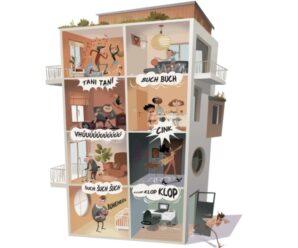 Co dělat, aby vás hluk od sousedů víc neobtěžoval?